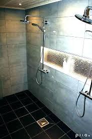 showers led shower light recessed lighting for showers over waterproof ideas best on rece led shower