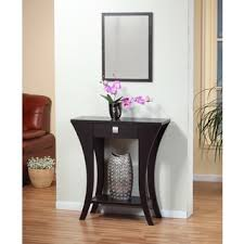 cheap foyer tables. Entryway Tables And Consoles Cappuccino Finish Console Sofa Entry Table With Drawer Add A Stylish Touch To Your Or Any Interior Space Cheap Foyer C