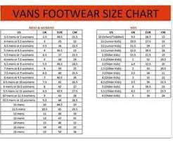 Vans Authentic Size Chart Original New Vans U Authentic Overwashed Black Mens Skate
