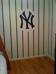 little boys bedroom for all the new york yankees fans out there created by new york yankees drawstring backpack new york yankees throw blanket new york