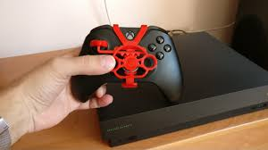 Xbox 360 Controller Designs Template Project 3d Print A Mini Steering Wheel For Your Xbox One Or