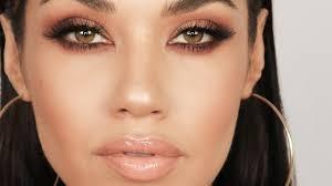 matte brown smokey eye makeup tutorial