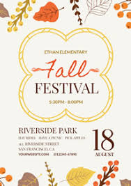Fall Festival Flyer Free Template Free Fall Flyer Designs Designcap Flyer Maker