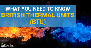 Btu Conversion Chart What Is Btu Essential Information For Home Owners