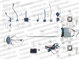 roketa mc 13 250 electrical parts