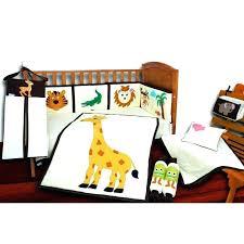 orange baby bedding orange crib per orange baby bedding sets jungle theme crib bedding set with