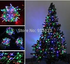 10M 100 LED Multi color party led light christmas lights christmas ...