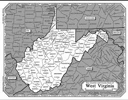 west virginia map with ohio pennsylvania cky maryland virginia jpg