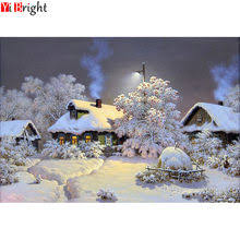 Popular Embroidery <b>Winter Landscape</b> with Snow-Buy Cheap ...