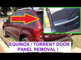 front door panel removal and replacement on chevrolet equinox or 2006 pontiac torrent driver door wiring harness at 2006 Pontiac Torrent Driver Door Wiring Harness