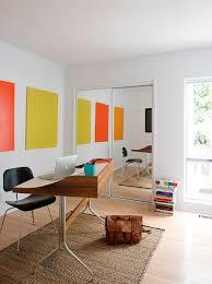century office. Mid Century Modern Area Rug Home Office Midcentury With Open Desk Design
