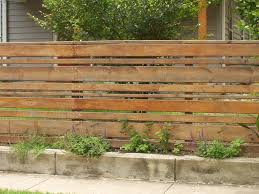 Horizontal Wood Fence Ideas Roof Fence Futons Pleasant and