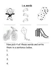 Tercero de infantil by lau_lacasta. Magic E I E Words Worksheet Teaching Resources