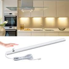 Cheap Led Kitchen Lights Us 5 69 35 Off 30 40 50cm 12v Hand Wave Sensor Led Bulb Lights Hand Scan Motion Sensor Switch Kitchen Lights Wardrobe Cupboard Decoration Light In