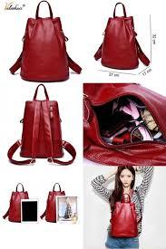 Valenkuci women genuine leather <b>backpacks</b> for women <b>vintage</b> ...