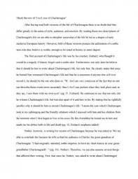 two lives of charlemagne research paper zoom