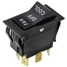 equipment rocker switches tundra restaurant supply original parts 421321 dpdt fan off cool rocker switch image