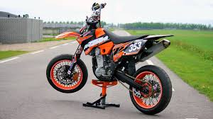 ktm exc525 supermoto with lots of mods engine sound only