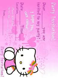 Hello Kitty Invitation Printable Fustianed Hello Kitty Invitations Printable Free