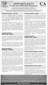 assistant manager skills the institute of chartered accountants of pakistan assistant manager