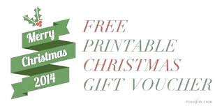 free printable christmas gift certificate templates christmas gift certificates free present voucher templates gift