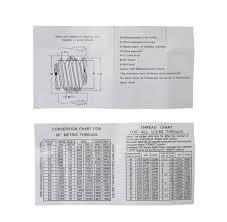 U S Metric Thread Measuring Wire Sets Eg06 1002