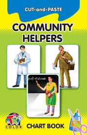 Community Helpers Chart Cut N Paste Community Helpers