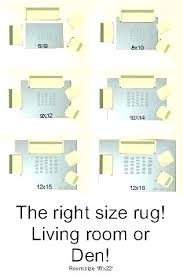 Living Room Rug Sizes Chart Living Room Area Rug Sizes Juicebees Co