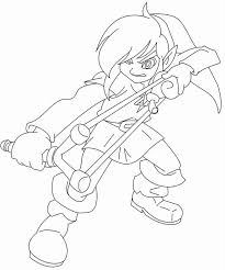 You can choose a worksheet that your child or student likes. Zelda Coloring Page Coloring Home