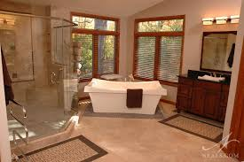 an asian inspired master bath in west chester ohio