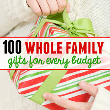 100 family gift ideas - with something for every budget! - The Measured Mom
