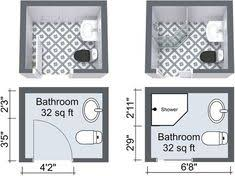 small bathroom layout ideas