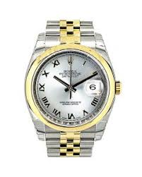mens rolex watches for rolex datejust 36 steel gold steel r dial 116203