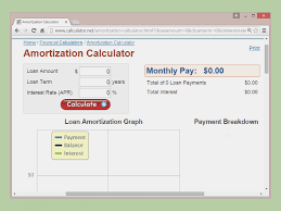 How To Build An Amortization Schedule How To Calculate Amortization 15 Steps With Pictures Wikihow