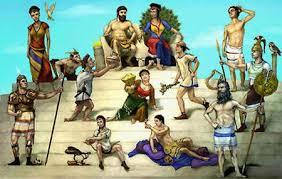 Resultado de imagem para olimpo zeus na arte