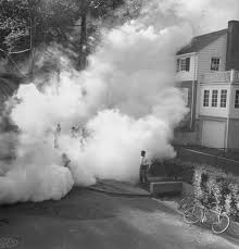 Image result for spray truck mosquitoes 1960s