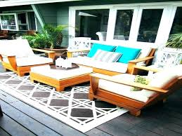 small deck furniture. Deck Furniture Layout Ideas Cool Simple Rug Exotic . Small L