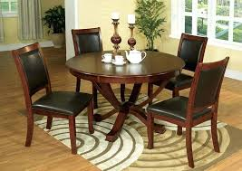 round table moreno valley sandy point brown cherry round dining table w 4 side of party round table moreno valley