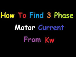 Kilowatt To Amps Chart How To Convert Kw To Amp
