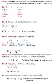 factoring in algebra
