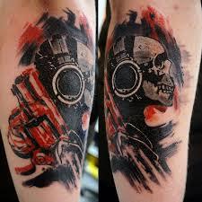 значение тату револьвер фотографии татуировки револьвер каталог