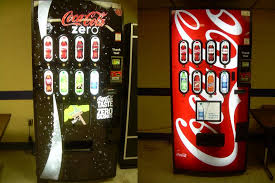 Coke Zero Vending Machine Interesting Vending Machines Emily Todhunter WVU Graduate Dietetic Intern