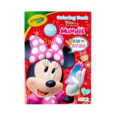 How to draw cat coloring pages with coloring markers video arts for kids. Crayola 400pg Minnie Mouse Coloring Book Target