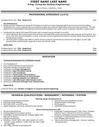 chief information officer resume sample template page 2 information system officer resume