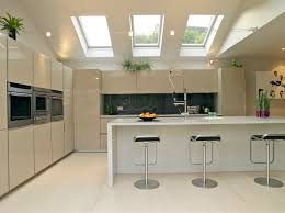Kitchen With Vaulted Ceilings Velux Installations Clayridge Roofing Contractors Roofers