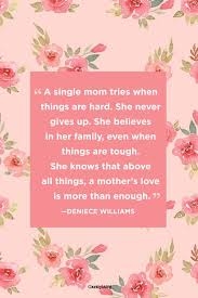Single Mom Quotes Simple 48 Single Mom Quotes Being A Single Mother Sayings