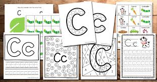 Phonics worksheets and online activities. Letter C Worksheets And Activities For Kindergarten Behind The Mom Bun