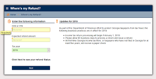 61 Veracious Ga State Income Tax Refund Cycle Chart