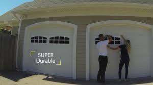 simple false garage door windows wageuzi with fake garage door