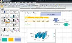Excel Themes Document Themes In Excel 2007 Techtv Articles Mrexcel Publishing